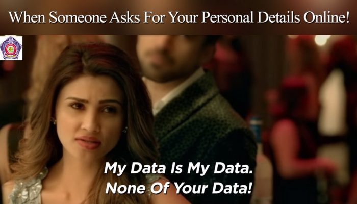 My Data is My Data, None of Your data