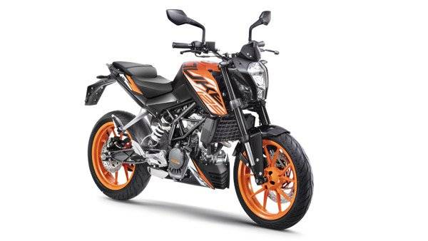 KTM Duke 125 with ABS