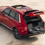 Rolls-Royce Cullinan Rear and Boot Space