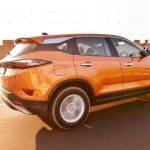 Tata Harrier - on road action photo