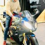 Imperial Blue BMW S1000RR Pro - Akash