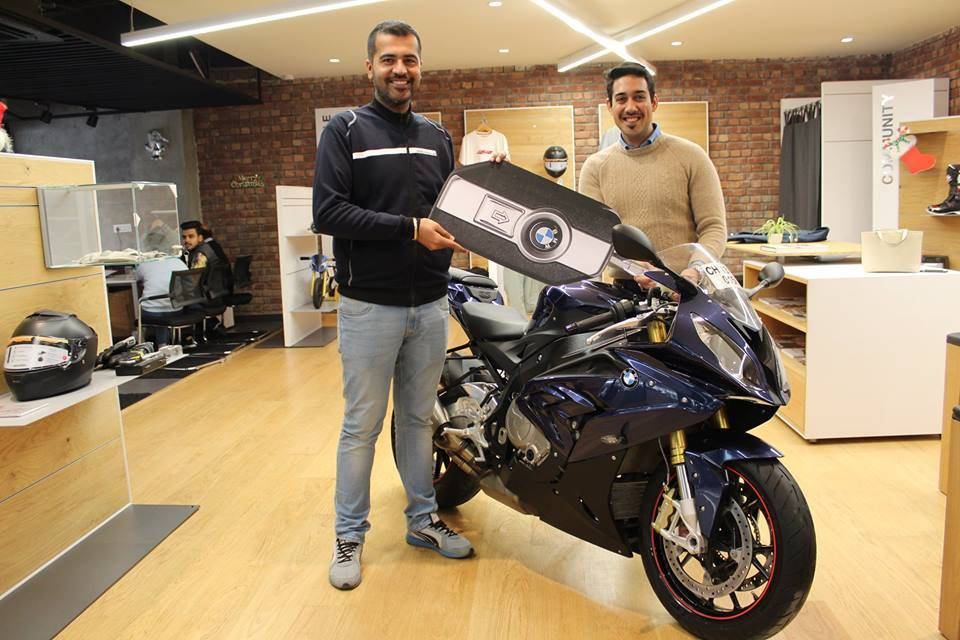 Imperial Blue BMW S1000RR Pro - Akash from Chandigarh
