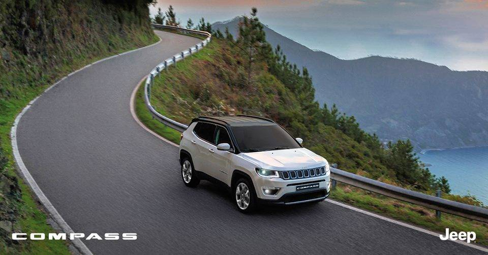 Jeep Compass On Road