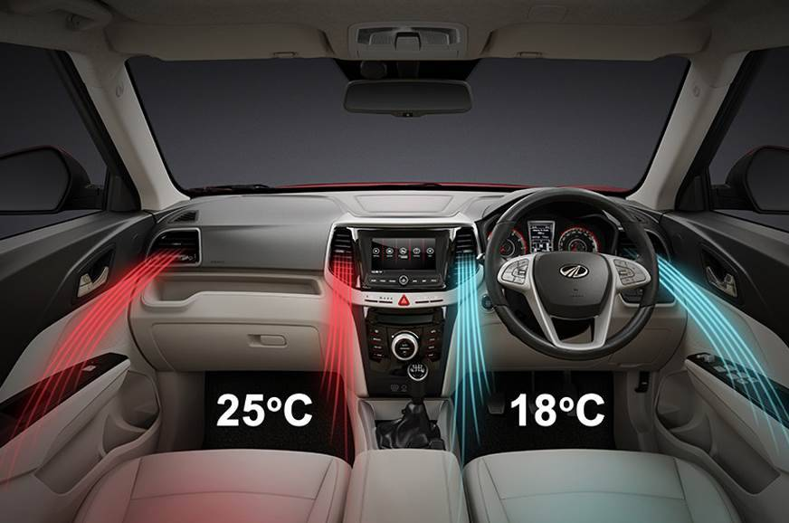 Mahindra XUV300 with dual zone climate control
