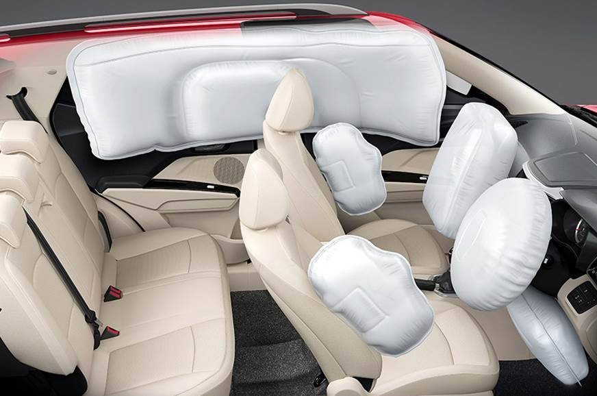 Mahindra XUV300 with seven airbags