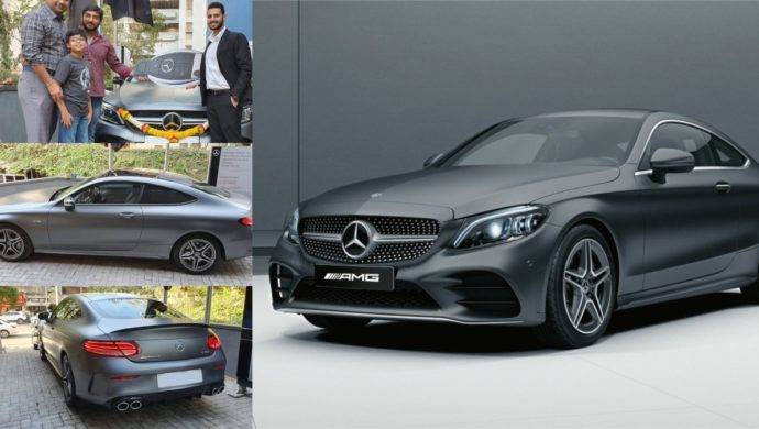 India's First Mercedes C43 AMG Coupe