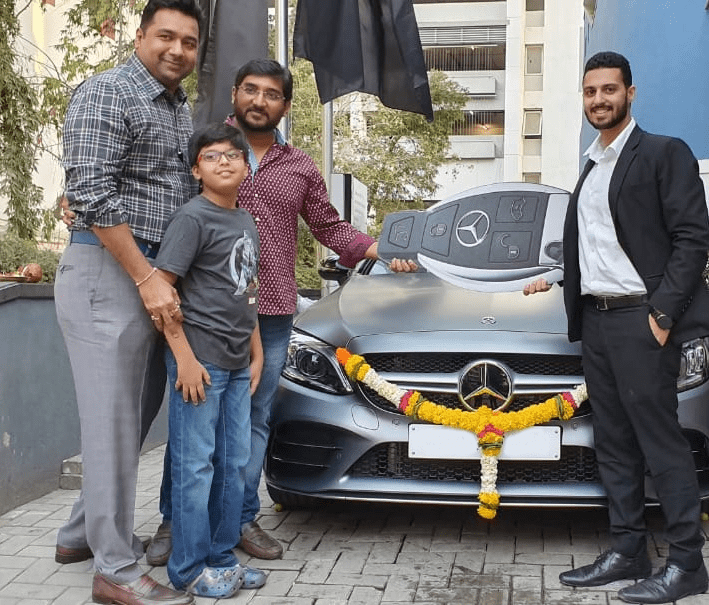India's First Mercedes C43 AMG Coupe delivery Image