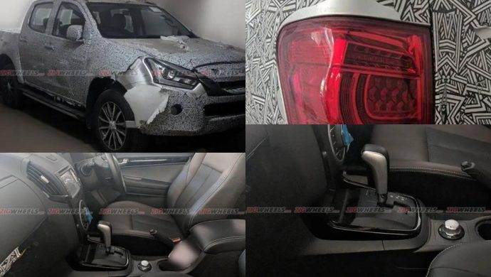 Isuzu D-max V-Cross AT Spied