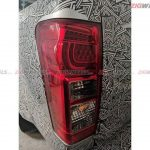 Isuzu D-max V-cross AT Spied Tail Light