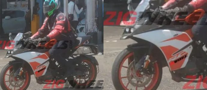 KTM R125 Spotted