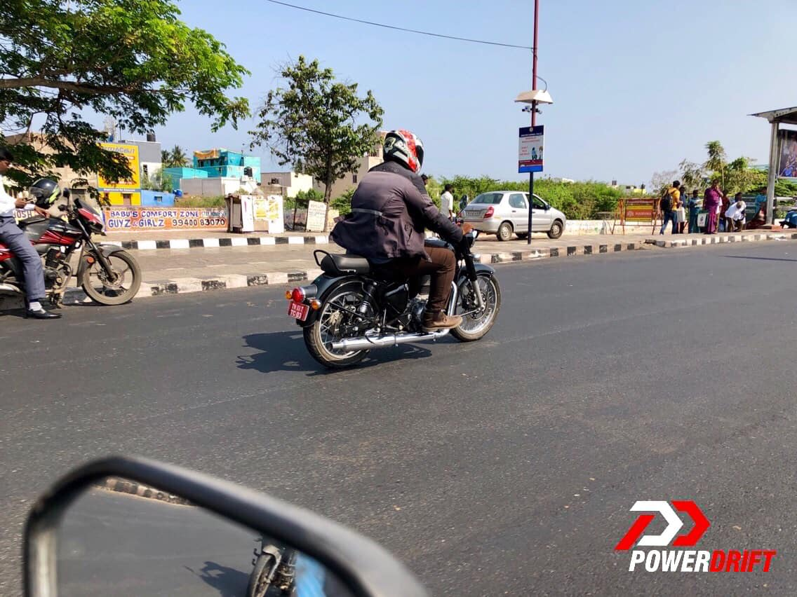 Royal Enfield Classic BS-VI spotted testing