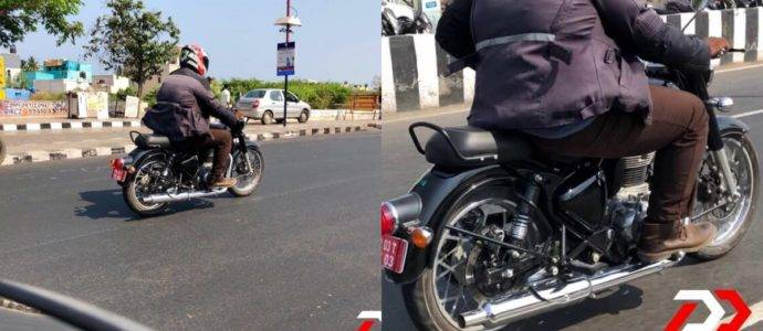 Updated Royal Enfield Classic Spied