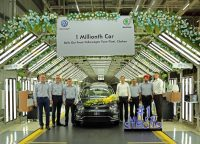 Volkswagen's Chakan Plant In Pune Rolls Out 1 Millionth Car