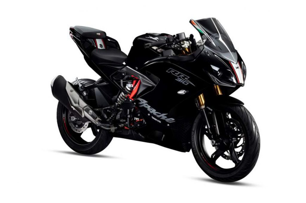 2019 TVS Apache RR 310 Phantom Black