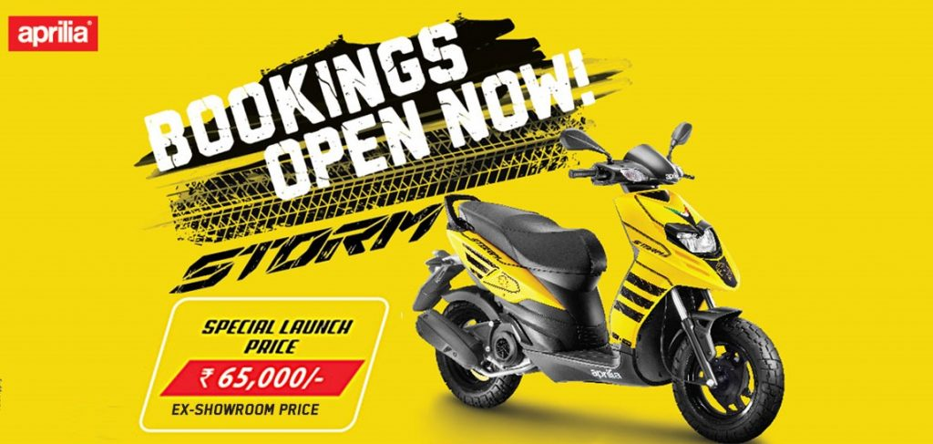 Aprilia-Storm-125-Booking-open