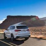 BMW X5 Rear View Image