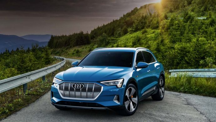 Five Stars For Audi e-tron