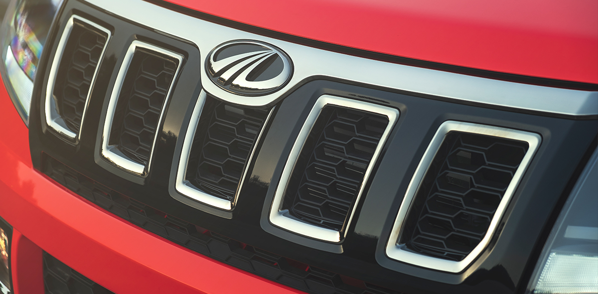 New Mahindra TUV300 Front grille