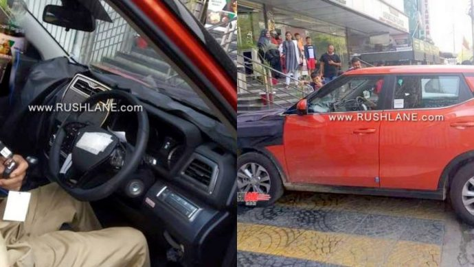SsangYong Tivoli Spied Image