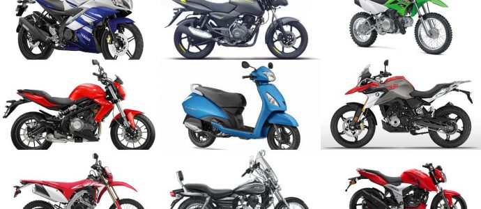 Different Motorcycles